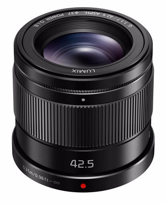 Panasonic Lumix 42.5mm f1.7 OIS Micro Four Thirds Lens, lenses mirrorless, Panasonic - Pictureline  - 1