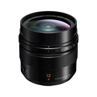 Panasonic Leica 12mm f/1.4 Summilux ASPH Lens