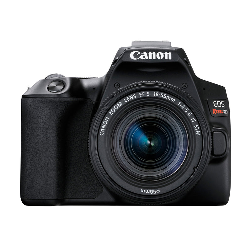 Canon EOS Rebel SL3 with EF-S 18-55mm STM Lens Kit (Black)