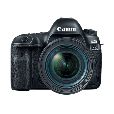 Canon EOS 5D Mark IV EF 24-70mm f/4 IS USM Digital Camera Kit