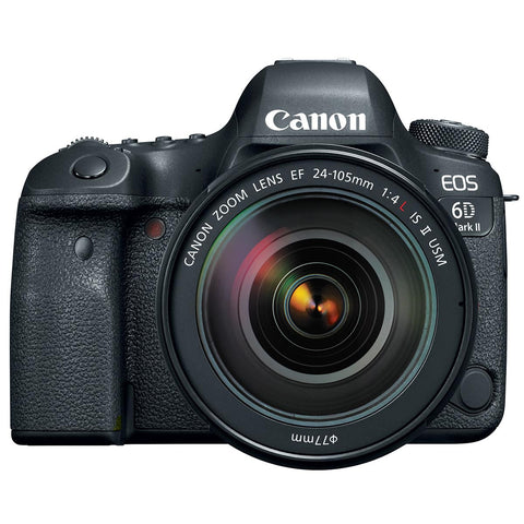 Canon EOS 6D Mark II EF 24-105mm L IS II USM Digital Camera Kit