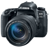 Canon EOS 77D DSLR Camera with 18-135mm IS STM Lens
