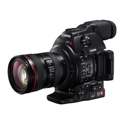 Canon EOS C100 Mark II Dual Pixel CMOS AF & EF 24-105mm f/4L IS II USM Zoom Lens Kit