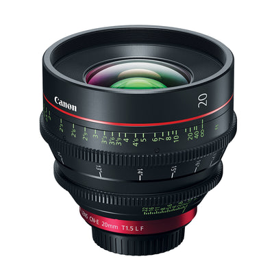 Canon CN-E 20mm T1.5 L F Cine Lens with EF Mount