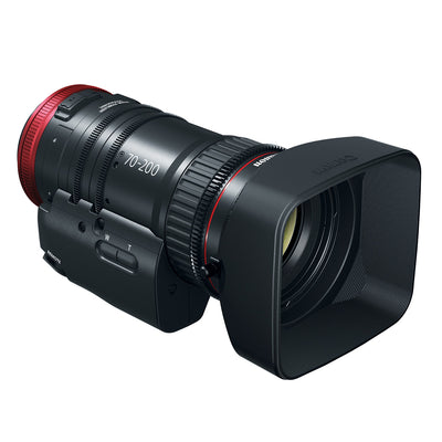 Canon CN-E 70-200mm T4.4L IS Compact Servo Cine Lens with EF Mount