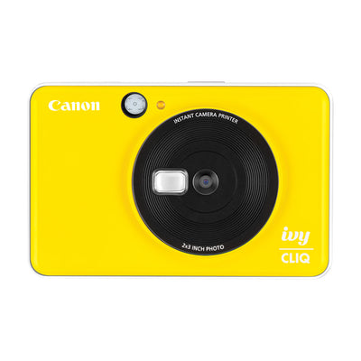 Canon IVY Cliq Instant Camera Printer (Bumble Bee Yellow)