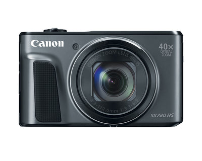 Canon PowerShot SX720HS Black Digital Camera, camera point & shoot cameras, Canon - Pictureline  - 1
