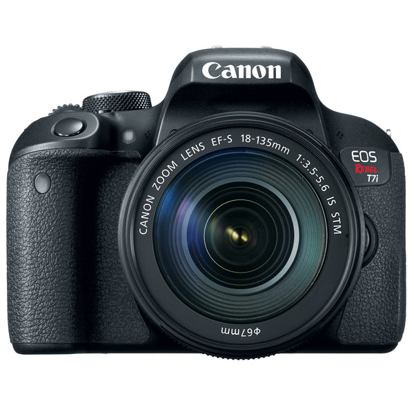 Canon EOS Rebel T7i DSLR 18-135mm STM Camera Kit