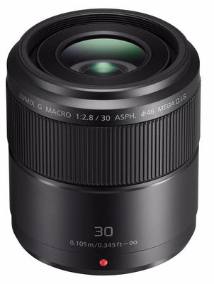 Panasonic Lumix 30mm f2.8 OIS Macro Micro Four Thirds Lens, lenses mirrorless, Panasonic - Pictureline  - 1