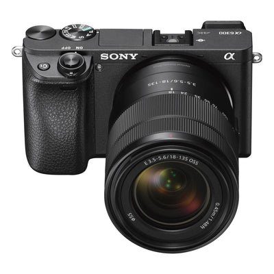 Sony Alpha a6300 Mirrorless Digital Camera with E-Mount 18-135mm Lens (Black)