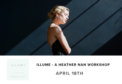 Bringing Light to the Dark Workshop by Heather Nan (April 18th)