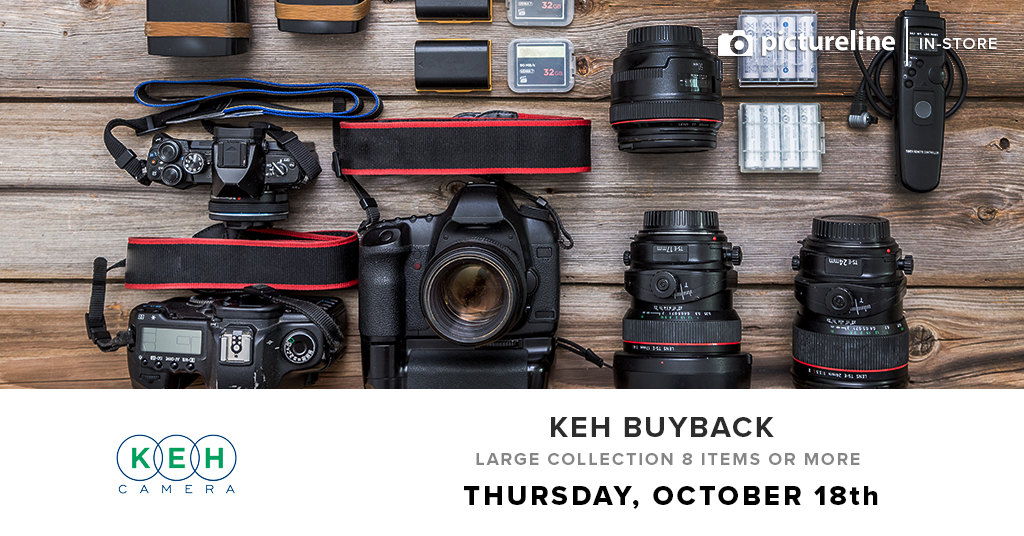 KEH 2018 Used Gear Buyback Event for Large Collections (October 18th, Thursday)