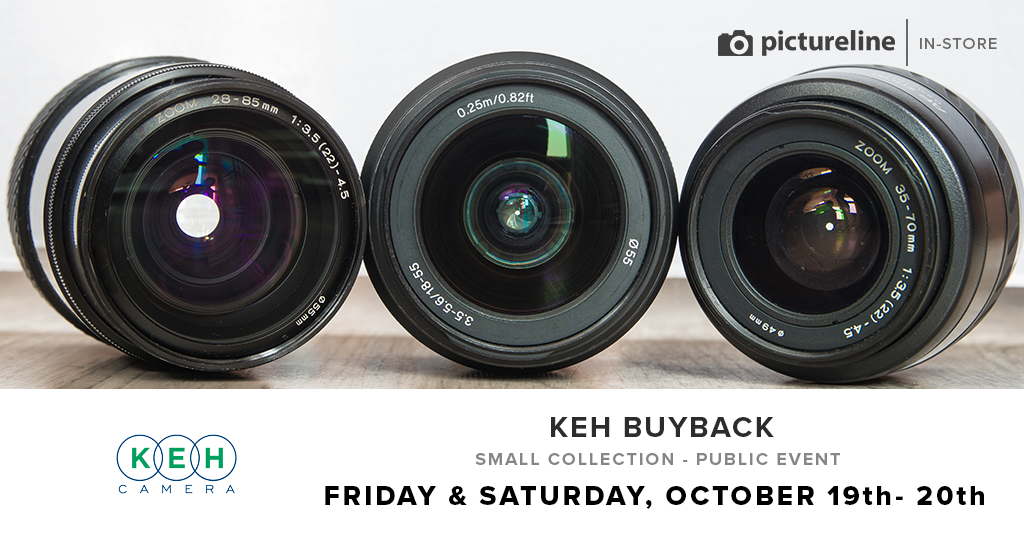 KEH 2018 Used Gear Buyback (October 19th-20th, Friday-Saturday)