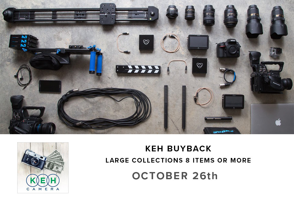 KEH Used Gear Buyback Event for Large Collections (October 26th)