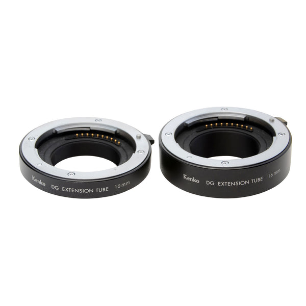 Kenko Auto Extension Tube Set for Sony EF (10mm & 16mm), lenses optics & accessories, Kenko - Pictureline