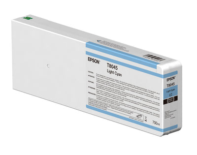Epson T804500 P6000/P7000/P8000/P9000 Ultrachrome HD Ink 700ml Light Cyan, papers ink large format, Epson - Pictureline