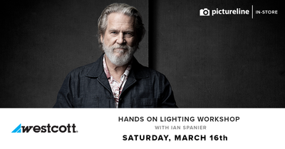 Hands-On Lighting Workshop with Ian Spanier (March 16th, Saturday)