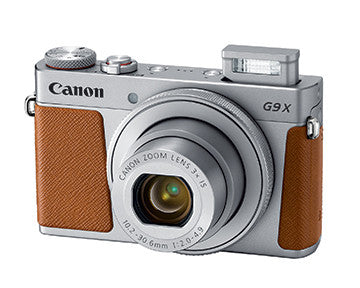 Canon PowerShot G9 X Mark II (Silver), camera point & shoot cameras, Canon - Pictureline  - 3