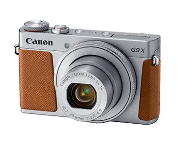 Canon PowerShot G9 X Mark II (Silver), camera point & shoot cameras, Canon - Pictureline  - 2