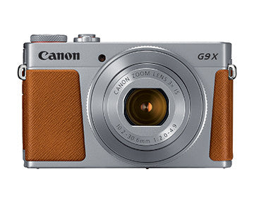 Canon PowerShot G9 X Mark II (Silver), camera point & shoot cameras, Canon - Pictureline  - 1
