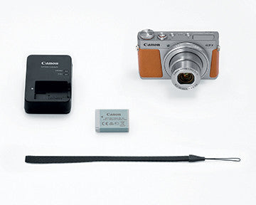 Canon PowerShot G9 X Mark II (Silver), camera point & shoot cameras, Canon - Pictureline  - 5