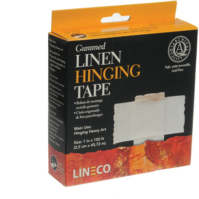 "Lineco Linen Tape 1""""x50 yards, papers mounting supplies, Lineco - Pictureline"