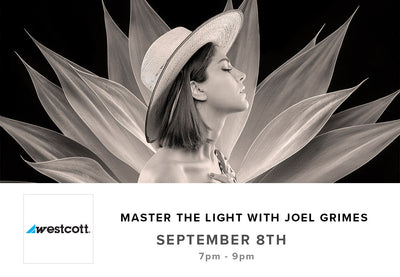 Master the Light with Joel Grimes Seminar (Sept 8th)