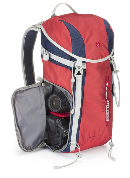 Manfrotto Off Road Hiking Backpack Red 20L, discontinued, Manfrotto - Pictureline  - 1