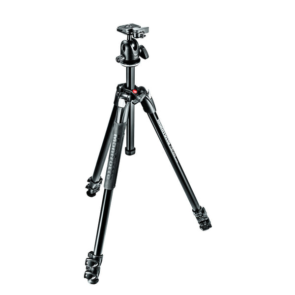 Manfrotto MK290XTA3-BHUS 290 Xtra Aluminum Tripod w/Ball Head, tripods photo tripods, Manfrotto - Pictureline  - 1