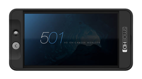 SmallHD 501 HDMI On-Camera Monitor with 3D LUT Support, video monitors, SmallHD - Pictureline  - 1