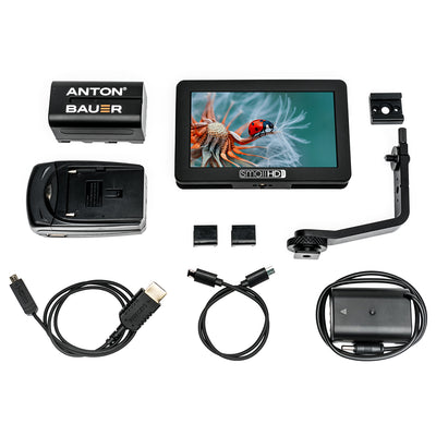 "SmallHD FOCUS 5"" Touchscreen with Panasonic BLF19 Bundle"