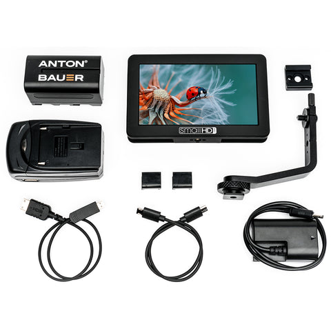 "SmallHD FOCUS 5"" Touchscreen with Canon LP-E6 Bundle"