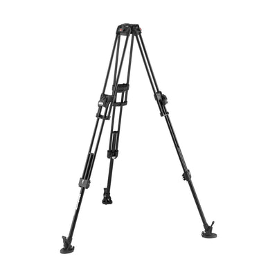 Manfrotto MVTTWINFAUS 645 Fast Twin Leg Aluminum Video Tripod