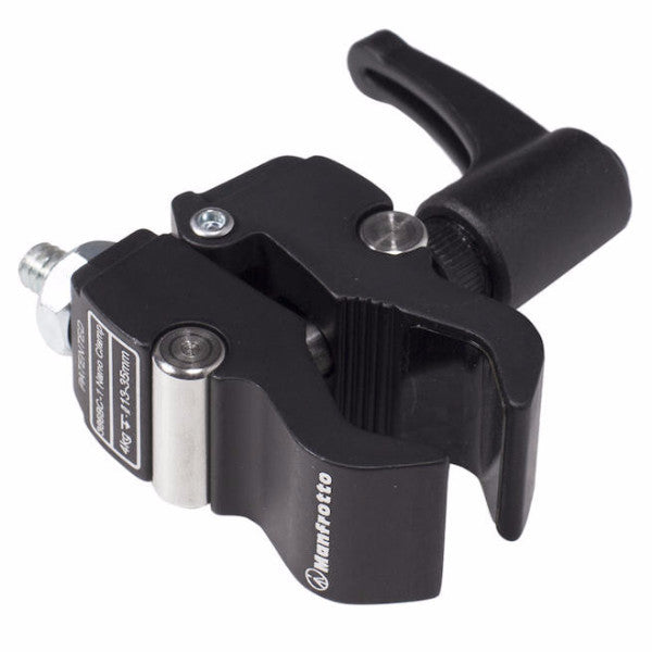 "Manfrotto 386B Nano Clamp with 3/8""-20 to 1/4""-20 Screw Adapter"
