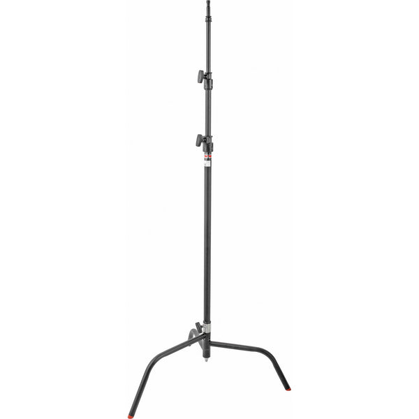 "Matthews 40"" C-Stand w/Spring Loaded Base, Grip Head & Arm (Black), supports c-stands, Matthews - Pictureline"