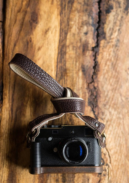 "HoldFast Maven American Bison 46"" Strap (Mahogany), camera straps, HoldFast - Pictureline  - 1"