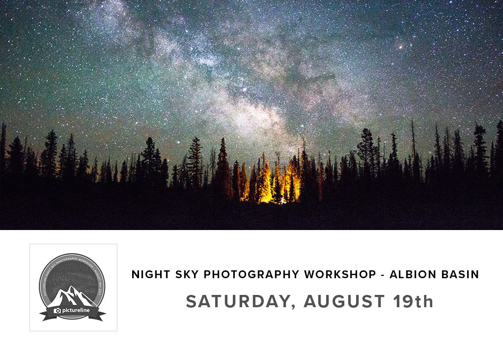 Night Sky Photography Workshop at Albion Basin (August 19th)