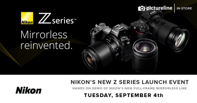 Nikon Z Series Launch Event (September 4th, Tuesday)