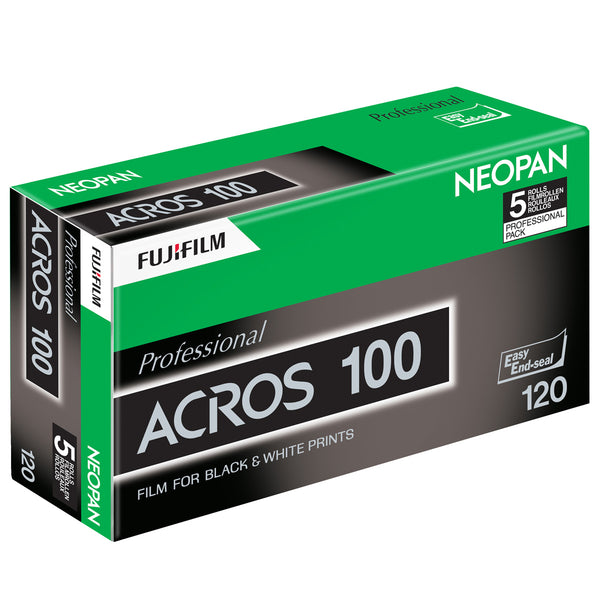 Fujifilm Neopan 100 120 Acros Black and White Negative Film (One Roll)