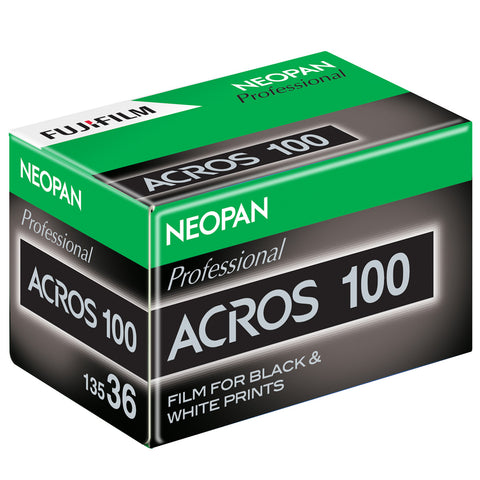 Fujifilm Neopan 100 135-36 Acros Black and White Negative Film (One Roll)