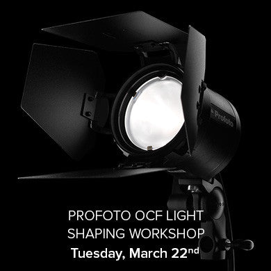Profoto OCF Light Shaping Workshop March 22, 2016, events - past, pictureline - Pictureline  - 1