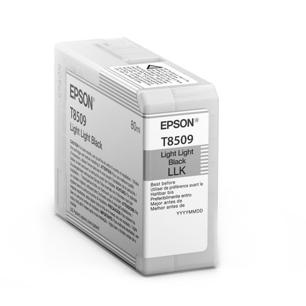 Epson T850900 P800 Ultrachrome HD Light Light Black Ink, papers ink large format, Epson - Pictureline