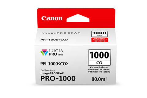 Canon PFI-1000 LUCIA PRO Chroma Optimizer Ink 80ml (PRO-1000), papers ink large format, Canon - Pictureline