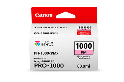 Canon PFI-1000 LUCIA PRO Photo Magenta Ink 80ml (PRO-1000), papers ink large format, Canon - Pictureline