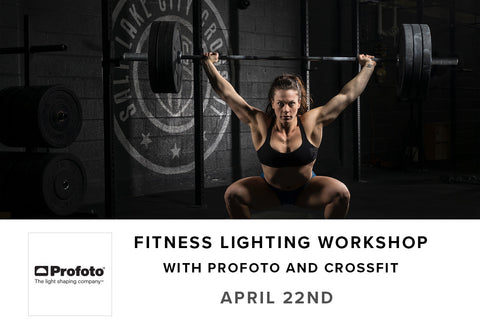 Fitness Lighting Workshop with Profoto and Salt Lake Cross Fit (April 22nd)