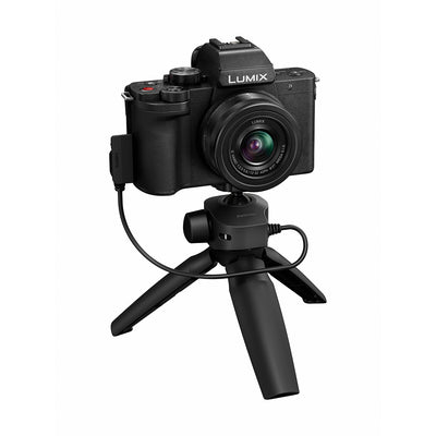 Panasonic Lumix DC-G100 Mirrorless Digital Camera with 12-32mm Lens and Tripod Grip Kit