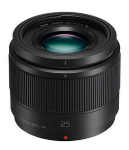 Panasonic Lumix G 25mm f/1.7 ASPH Lens, lenses mirrorless, Panasonic - Pictureline  - 1