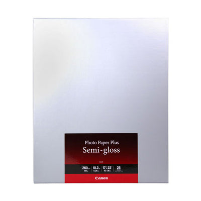 "Canon SG-201 Photo Paper Plus Semi-Gloss 17x22"" (25)"