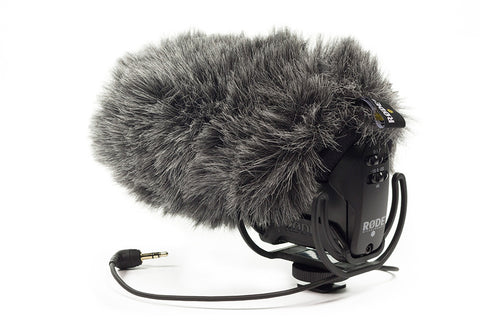 RODE Deadcat VMPR Artificial Fur Wind Shield for VideoMic Pro-R, video audio microphones & recorders, RODE - Pictureline  - 1
