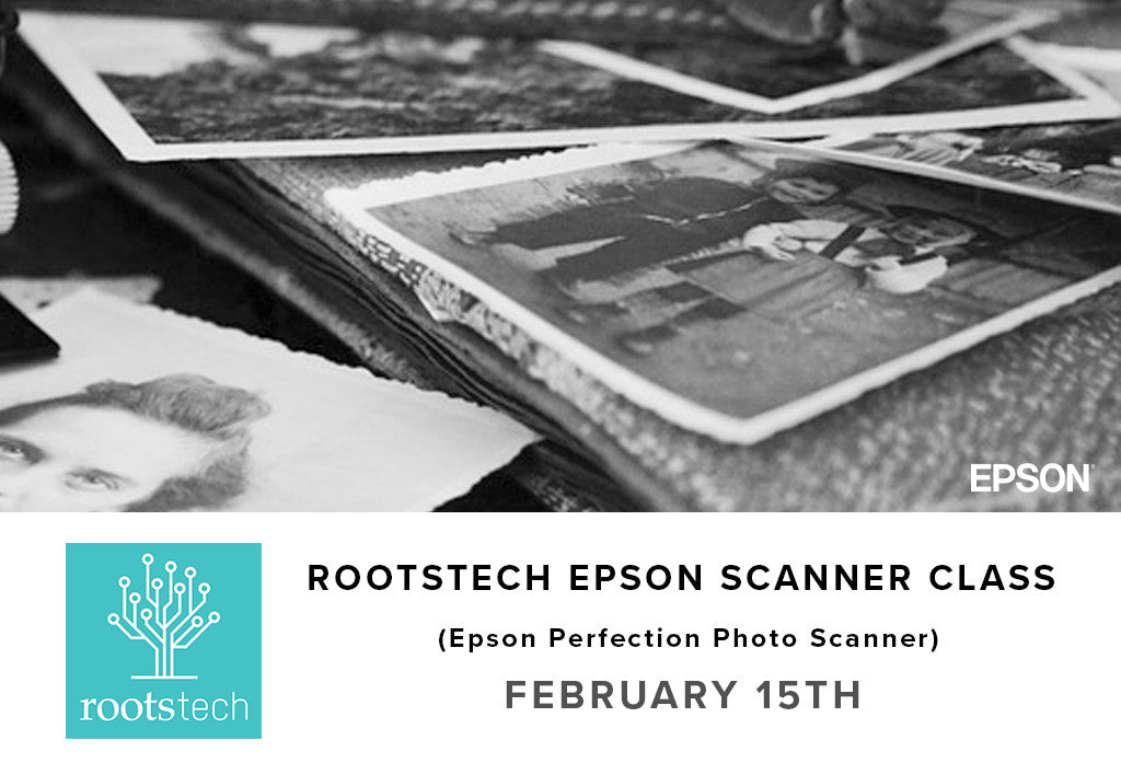 Rootstech / Epson Scanner Class (February 15th), -none, pictureline - Pictureline